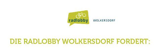 Radstadt Wolkersdorf – 10 Forderungen der Radlobby