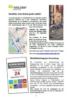 Korneuburg News rund ums Rad – 13.09.2015