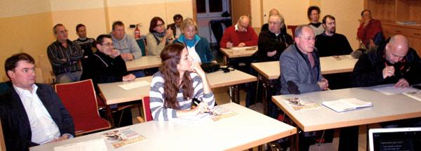 Radlobby Tulln Gründungsversammlung 12. Dez. 2012 | Foto: Karl Zauner