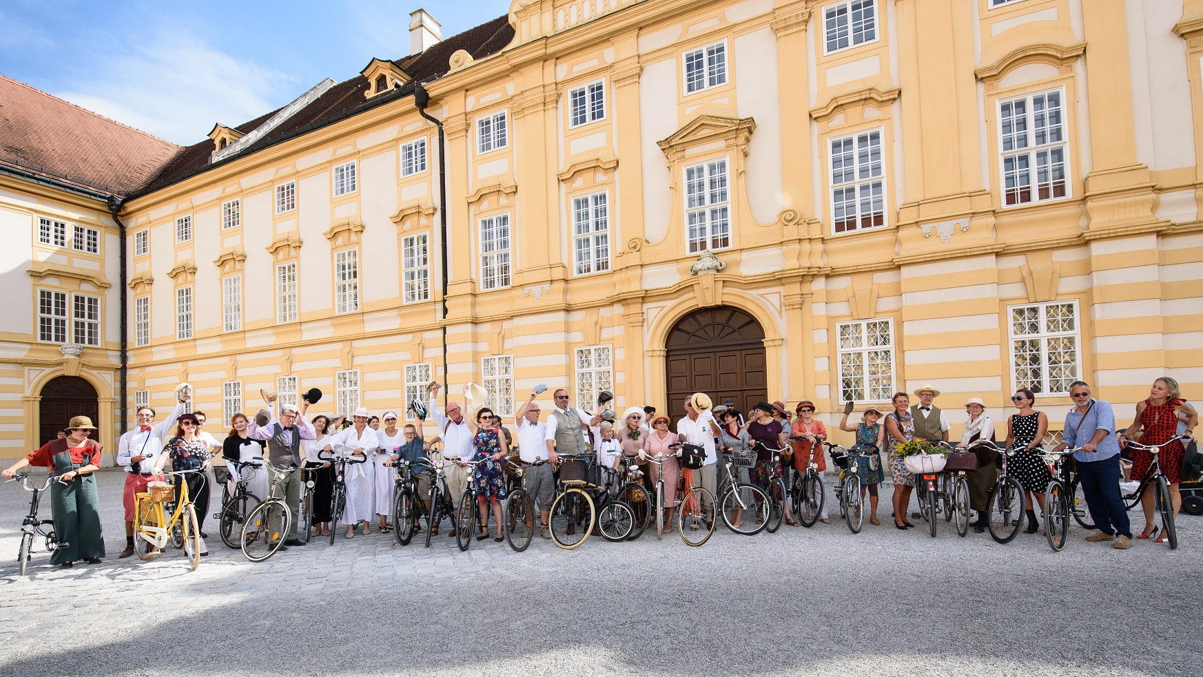 Tweed Ride der Radlobby Melk am 3. September 2016 | Foto: Radlobby Melk