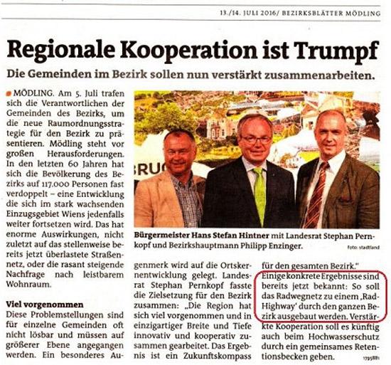 Regionalen Gemeinde-Kooperation