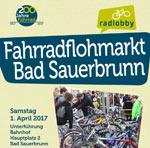 1. April: Fahrradflohmarkt in Bad Sauerbrunn