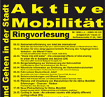 TU Wien: Ringvorlesung Aktive Mobilität 2017