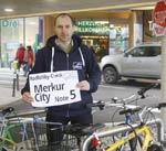 Radlobby-Check:<br>Merkurcity Wiener Neustadt erhält Note 5!