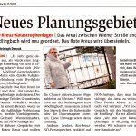 """NÖN-Zeitungsartikel """"Neuses Planungsgebiet"""""""