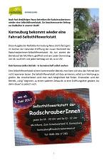 Korneuburg – News rund ums Rad vom 28.05.2017