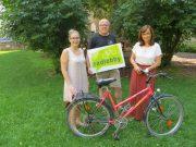 Radlobby Wiener Neustadt unterstützt Mädchenwohngemeinschaft mit Fahrrad