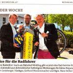 Bezirksblätter Mödling, Bilder der Woche: Ein Service für Radfahrer