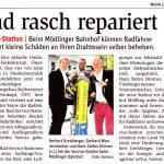 Woche 28/2017 NÖN: Rad rasch repariert