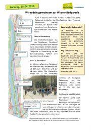 4. April 2018: Korneuburg<br>News rund ums Rad