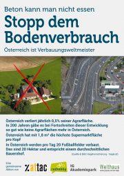 Aktionstag: Stopp dem Bodenverbrauch
