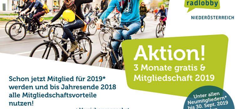 Neumitglieder-Aktion ab 1. Oktober: Mitgliedschaft bis Ende 2018 gratis