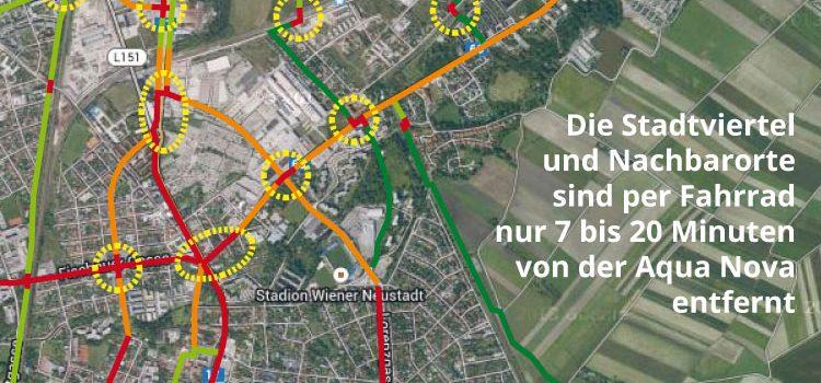 Wiener Neustadt: Gefährlicher Weg ins neue Familienbad