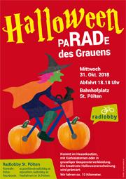 St. Pölten | Halloween paRADe des Grauens