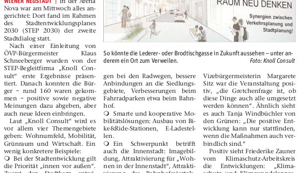 STEP2030: Kurskorrektur bei Stadtentwicklung?