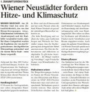 1. Wiener Neustädter Zukunftsfrühstück