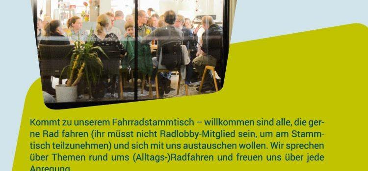 Fahrradstammtisch der Radlobby Deutsch-Wagram am 21.03.2019