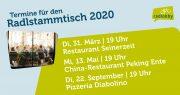 Radlstammtische 2020 | Radlobby Deutsch-Wagram