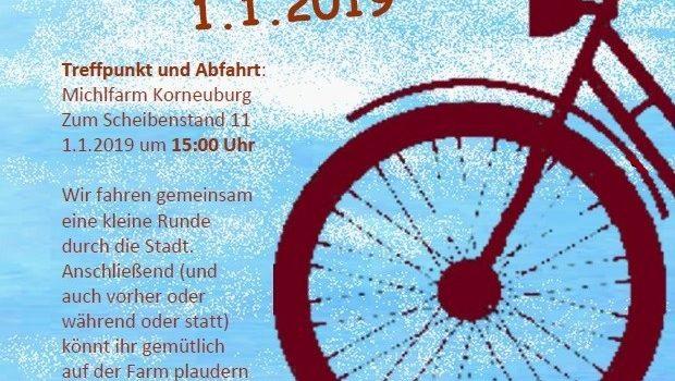Korneuburg – Neujahrsradeln 2019