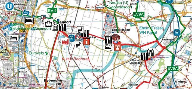 Radlobby Radtour zur Eröffnung des Ziegelbaron Radwegs · 27. April 2019