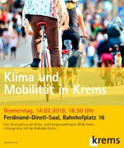 Klima und Mobilität in Krems · 14. Feb. 2019
