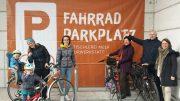 Bühne frei für Fahrradparkplatz!