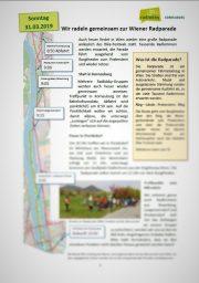 Korneuburg – News rund ums Rad – 04.03.2019