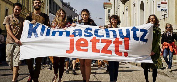 "Sa. 18. Jänner 2020 <br>Klimademo in Wiener Neustadt ""Vote for Future"""