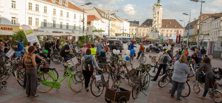 St. Pöltner Radparade – Kultur macht Klima, Fahrrad nützen – Klima schützen