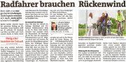 Bezirk Baden: Radfahrer brauchen Rückenwind <br>Tadej Brezina von der TU Wien sieht die Politik gefordert