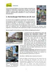 Korneuburg – News rund ums Rad vom 18.06.2019