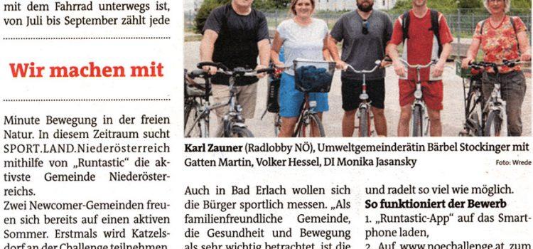 Bezirksblätter | Erlach vs Katzelsdorf: Challenge für sportliche Bürger