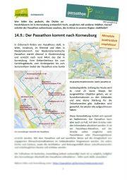 14.09.2019 <br>Passathon in Korneuburg <br>und News rund ums Rad vom 31.08.2019