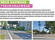 Neue Radwege – Pseudoradwege? <br>Die Grünen Kottingbrunn berichten