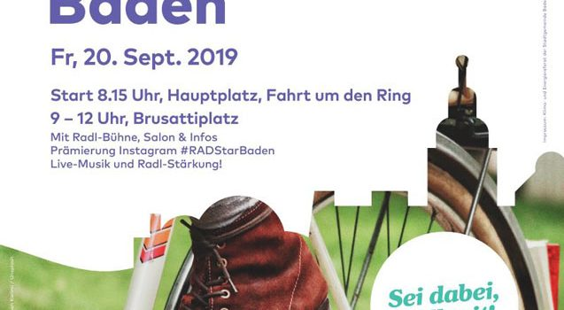 RADpaRADe-Baden & RadlerFest am Brusattiplatz <br>20. September 2019