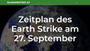 Weltweiter Klima-Streik am 27. September 2019 | Demo-Zeitplan Wien