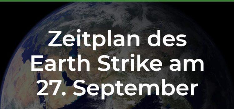 Weltweiter Klima-Streik am 27. September 2019   Demo-Zeitplan Wien