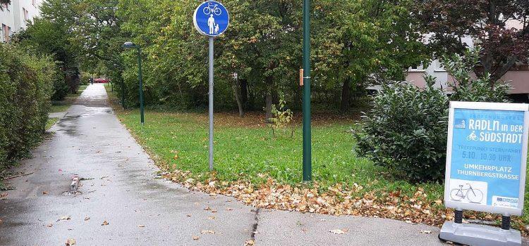 Maria Enzersdorf: Wege in der Südstadt fürs Radfahren geöffnet