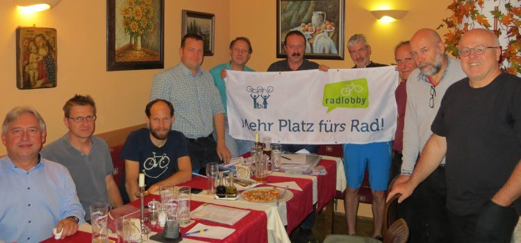 Klosterneuburg: Radlobby Treffen am 22. Oktober 2019