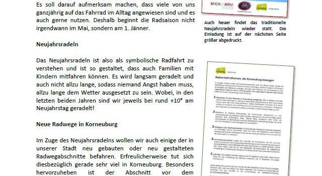 Korneuburg – News rund ums Rad