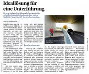 """Mödling/Guntramsdorf: Neue Unterführung """"vorbildlich"""" (Drahtesel 4/2019)"""