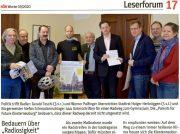 Klosterneuburger Parents for Future unterstützen die Anliegen der Radlobby im Leserforum der NÖN