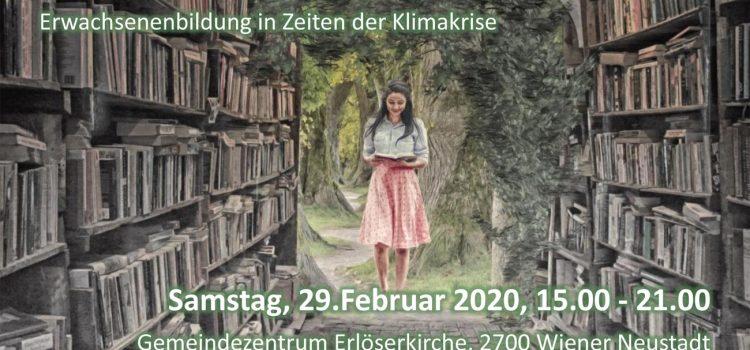 Wiener Neustadt · Gemeindezentrum Erlöserkirche: <br>Klima – Bildungstag Industrieviertel
