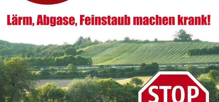 Samstag, 14. März: <br>Infoveranstaltung zur neue Transitroute: <br>Ungarn – Burgenland A3/S4 – Wiener Neustadt – S4/A2