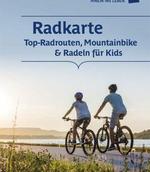 Die neue Niederösterreich Radkarte 2020 ist da! <br>Downloaden oder bestellen