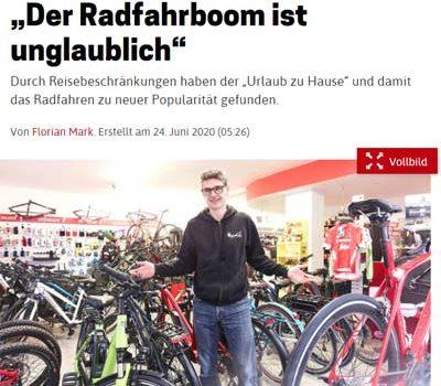 NÖN: Die Zukunft heißt Fahrrad <br>Berichte in allen NÖN Ausgaben in Niederösterreich <br>NÖN Ausgabe Mistelbach