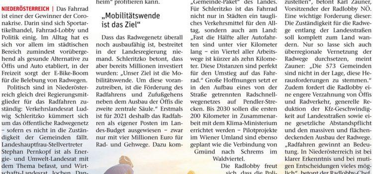 NÖN: Die Zukunft heißt Fahrrad <br>Berichte in allen NÖN Ausgaben in Niederösterreich <br>NÖN Ausgabe Wiener Neustadt