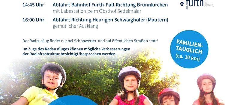 Radlobby Krems   Radausflug der Gemeinden Furth Krems Mautern <br>Sonntag, 20. Sept. 2020