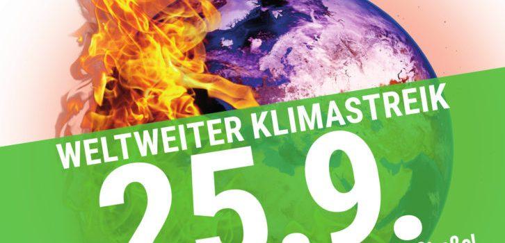 Radlobby Ebreichsdorf beim Klimastreik