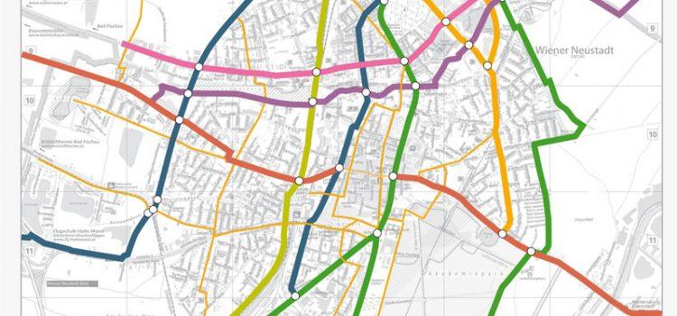 10 Jahres Radwege-Konzept der radlobby Wiener Neustadt